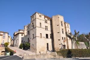 Châteaux dans les Alpes de Haute-Provence : Château de Chateau-Arnoux
