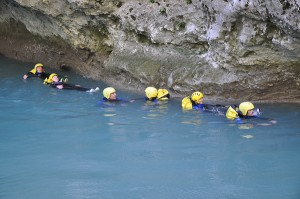 Sports d'eau vive : Floating dans les Alpes de Haute-Provence