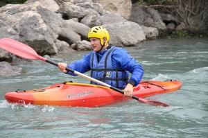Sports d'eau vive : Kayak dans les Alpes de Haute-Provence