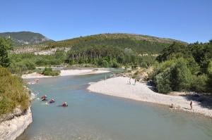 Sports d'eau vive : Nage en eau vive dans les Alpes de Haute-Provence