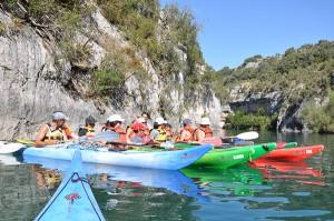 Sports d'eau vive : Randonnée nautique dans les Alpes de Haute-Provence