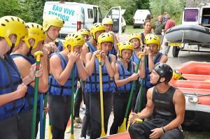Sports d'eau vive : Structure commerciale de sports d'eaux vives dans les Alpes de Haute Provence
