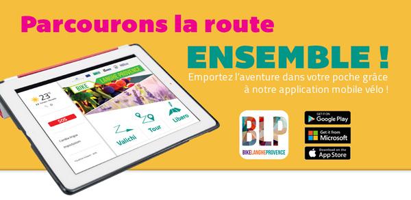 L'application mobile vélo Bike Langhe Provence