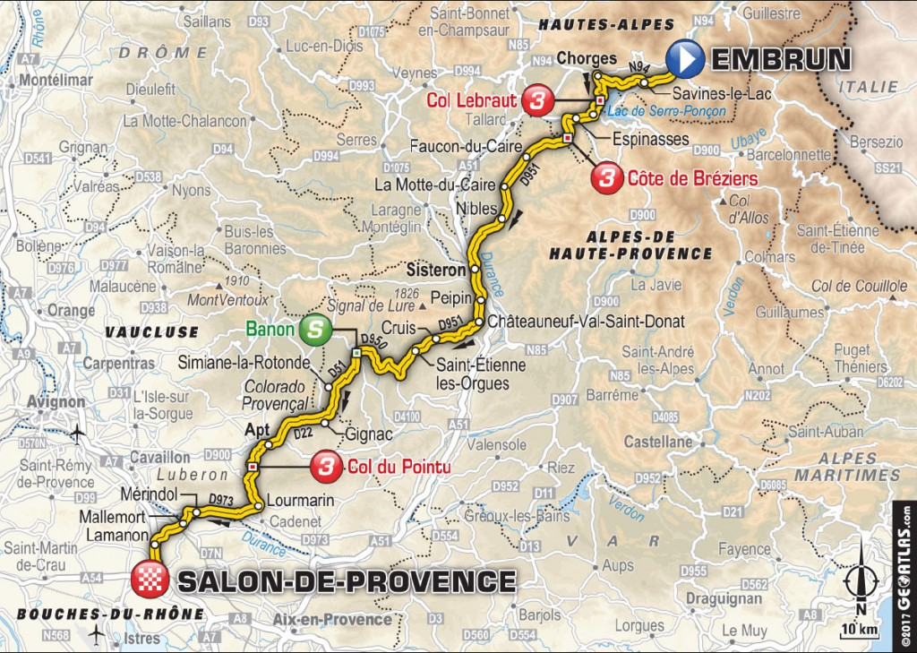 Tour de france 2017 alpes de haute provence - Salon de provence departement ...