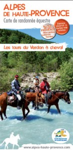 Carte Les tours du Verdon à cheval