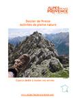 Dossier de presse Les Activités de pleine nature dans les Alpes de Haute-Provence