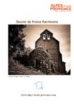 dossier de presse patrimoine Alpes de Haute-Provence