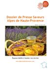 dossier de presse saveurs Alpes de Haute Provence