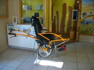 Randonnées en joëlette adapté handicap