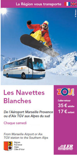 navettes blanches