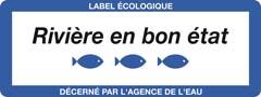 label « rivière en bon état »