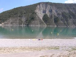 en cours de labelisation : plage du plan d'eau de saint andré