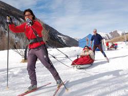 Autres sites accessibles « loisirs de pleine nature » ski de fond
