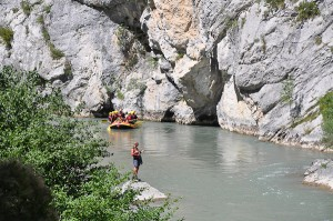 Sports d'eau vive : Rafting dans les Alpes de Haute-Provence