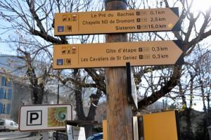 Conseils aux randonneurs : Alpes de Haute Provence Randonnée Saint Jacques de Compostelle