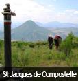 Chemin de Saint Jacques de Compostelle dans les Alpes de Haute-Provence