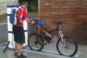 Stations-services pour vélos