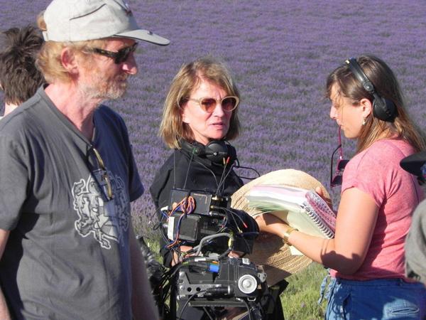 Tournage du film Mal de pierres de Nicole Garcia sur le plateau de Valensole en juillet 2015 Photos ©CFAS