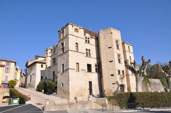 Château de Château-Arnoux-Saint-Auban dans le Val de Durance