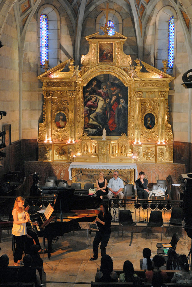 Concert dans l'église de Cruis
