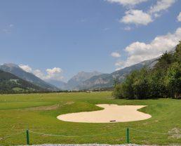 golf du bois chenu à Barcelonnette