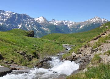 paysage de montagne du Val d'Allos