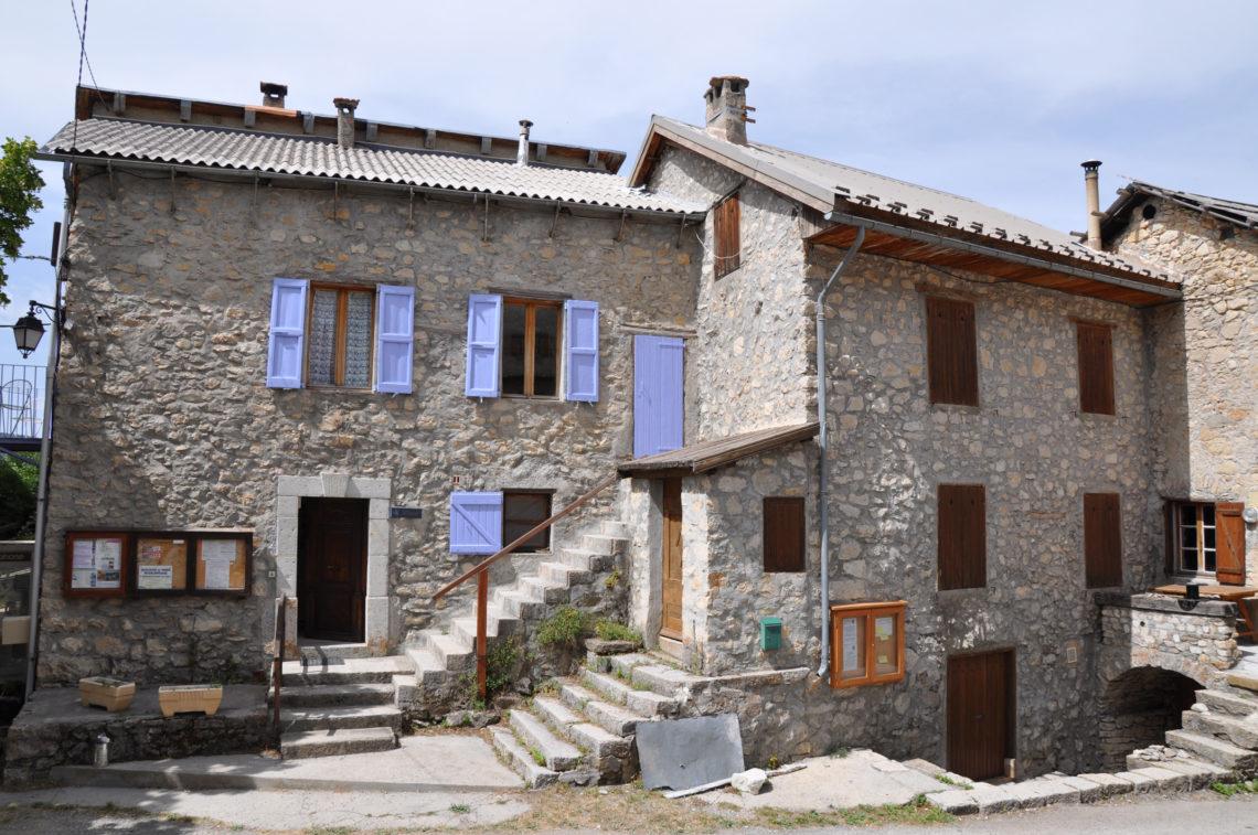 village de Peyresq (1525 m)