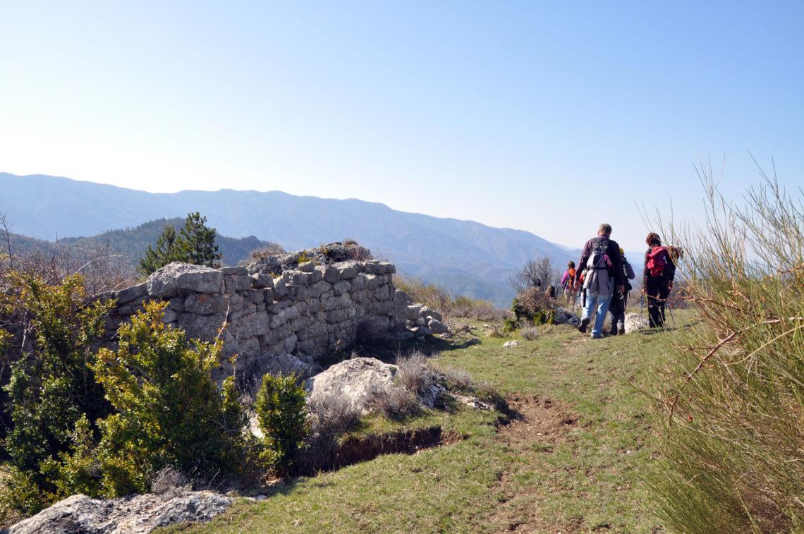 GR® de Pays - Grande Traversée des Préalpes (GTPA) relie du nord au sud Sisteron à Entrevaux ©AD04/GBe