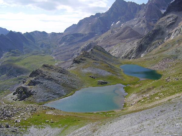 Pêche dans les lacs de montagne