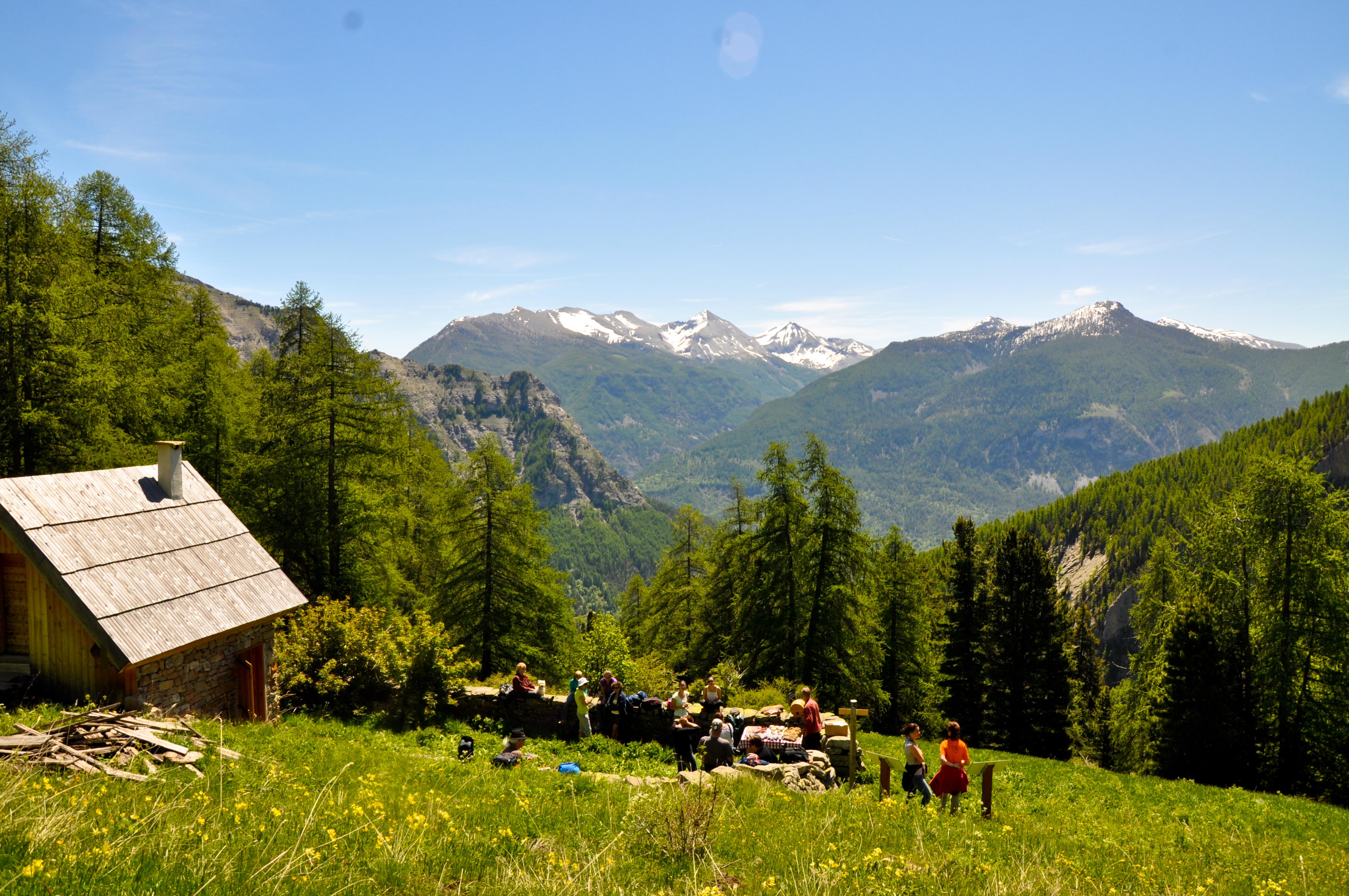 Randonn es p destres alpes de haute provence tourisme - Office tourisme montgenevre hautes alpes ...