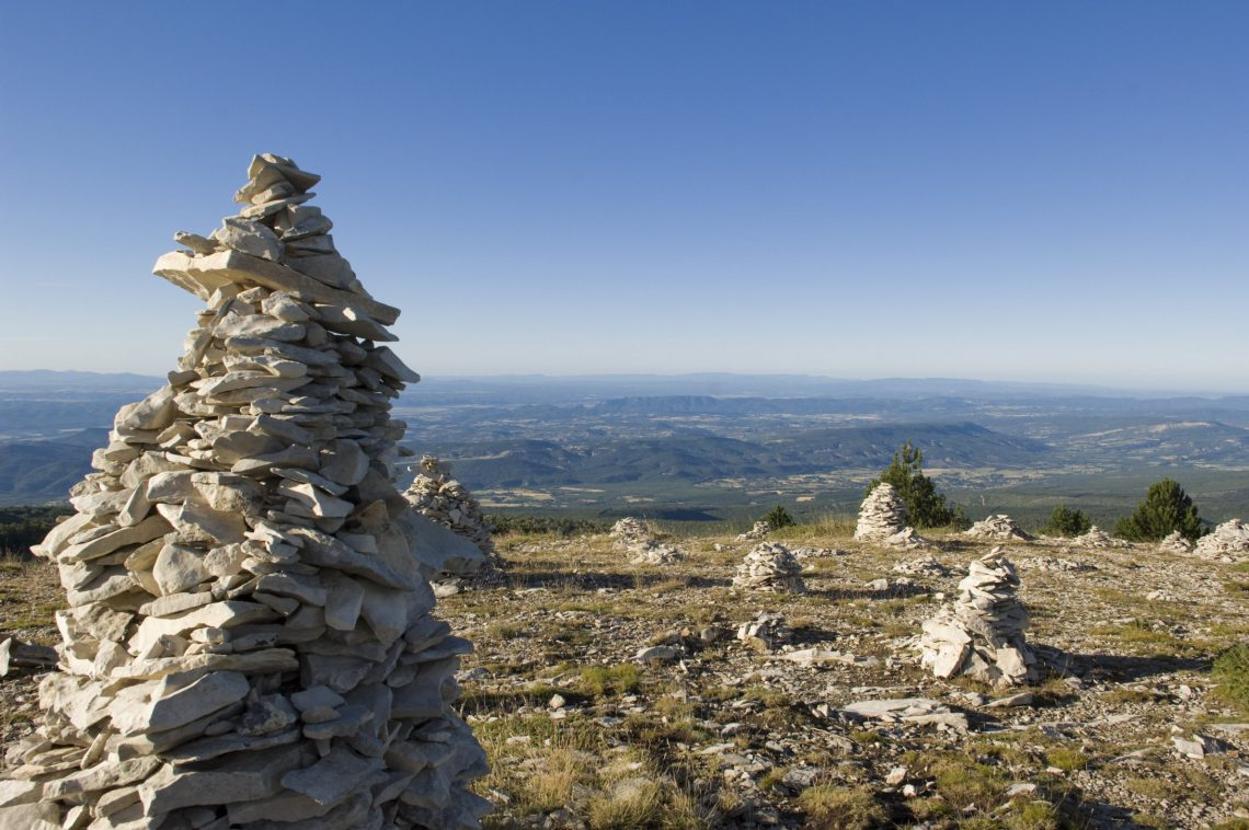 La Route Jean Giono : autour de la Montagne de Lure ©M. Boutin