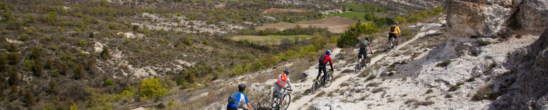 VTT Pays de Forcalquier Montagne de Lure ©Michel Delli Photographies