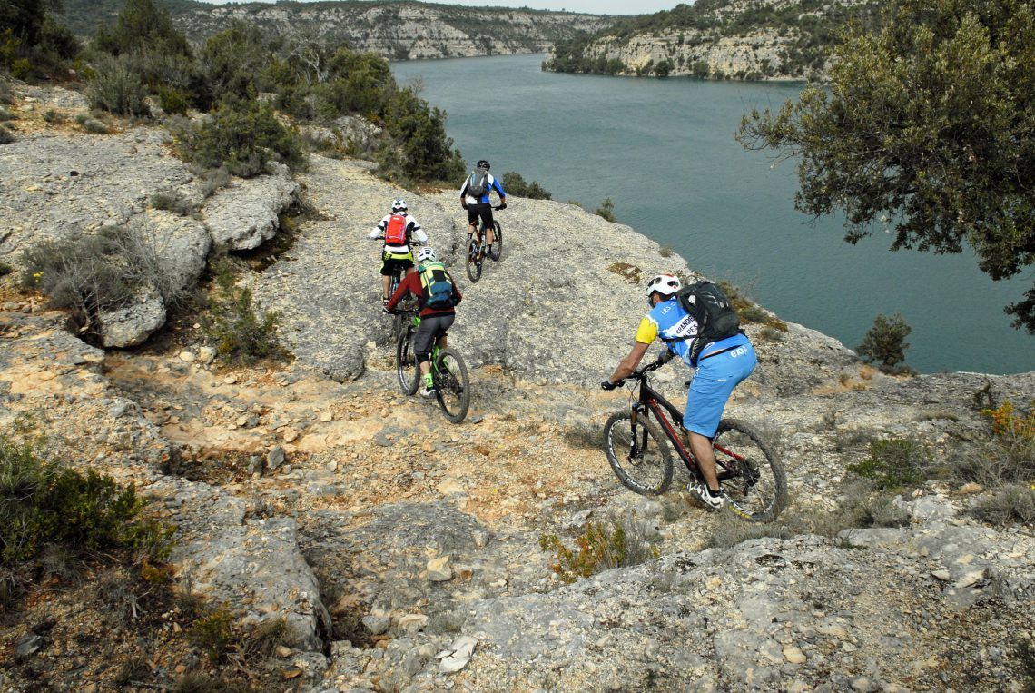 VTT Provence Verdon VTT ©William Fautre
