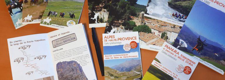 Brochures des Alpes de Haute-Provence