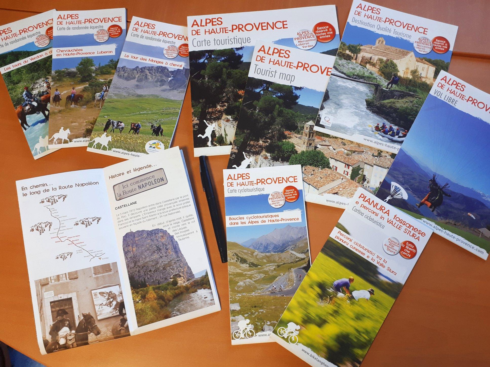 vaucluse tourisme brochures