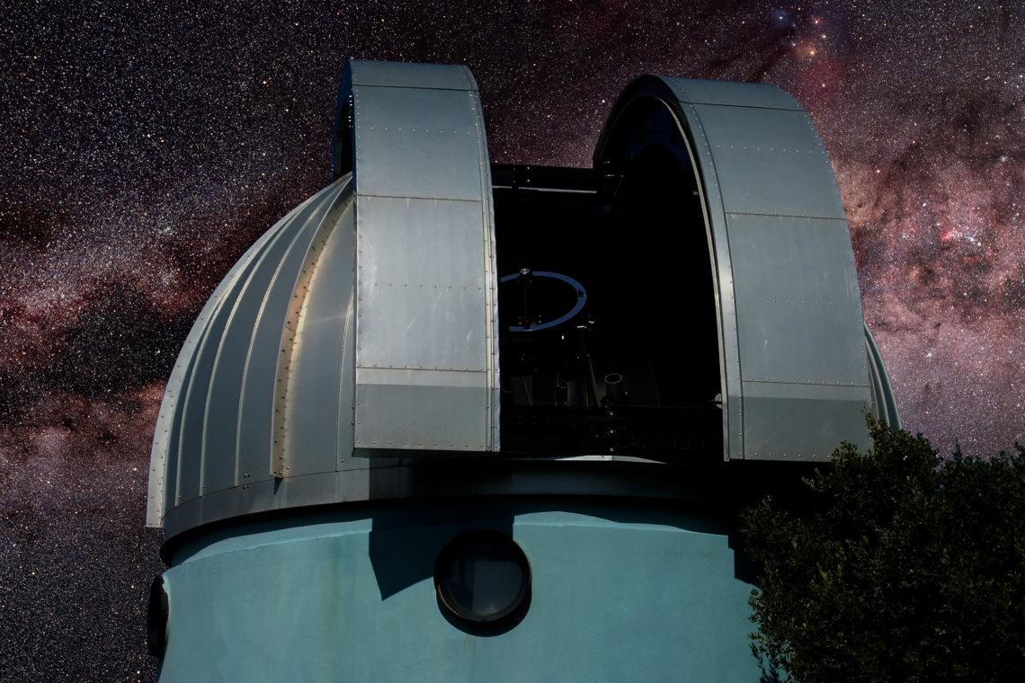 Coupole Centre d'Astronomie ©AD04-Laurent Gayte
