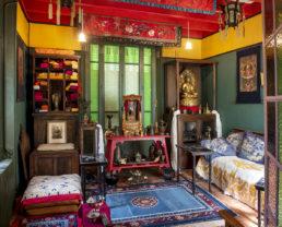 Chambre tibétaine Maison Alexandra David-Neel