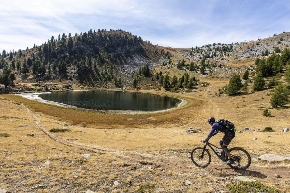 VTT Provence Alpes secteur « Blanche – Serre Ponçon » © Thibaut VERGOZ