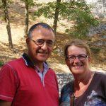 Pierrette et Michel P. à La Citadelle de Sisteron