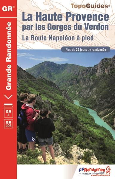 GR ® 4-406 / La Haute-Provence par les Gorges du Verdon, La route Napoléon à pied