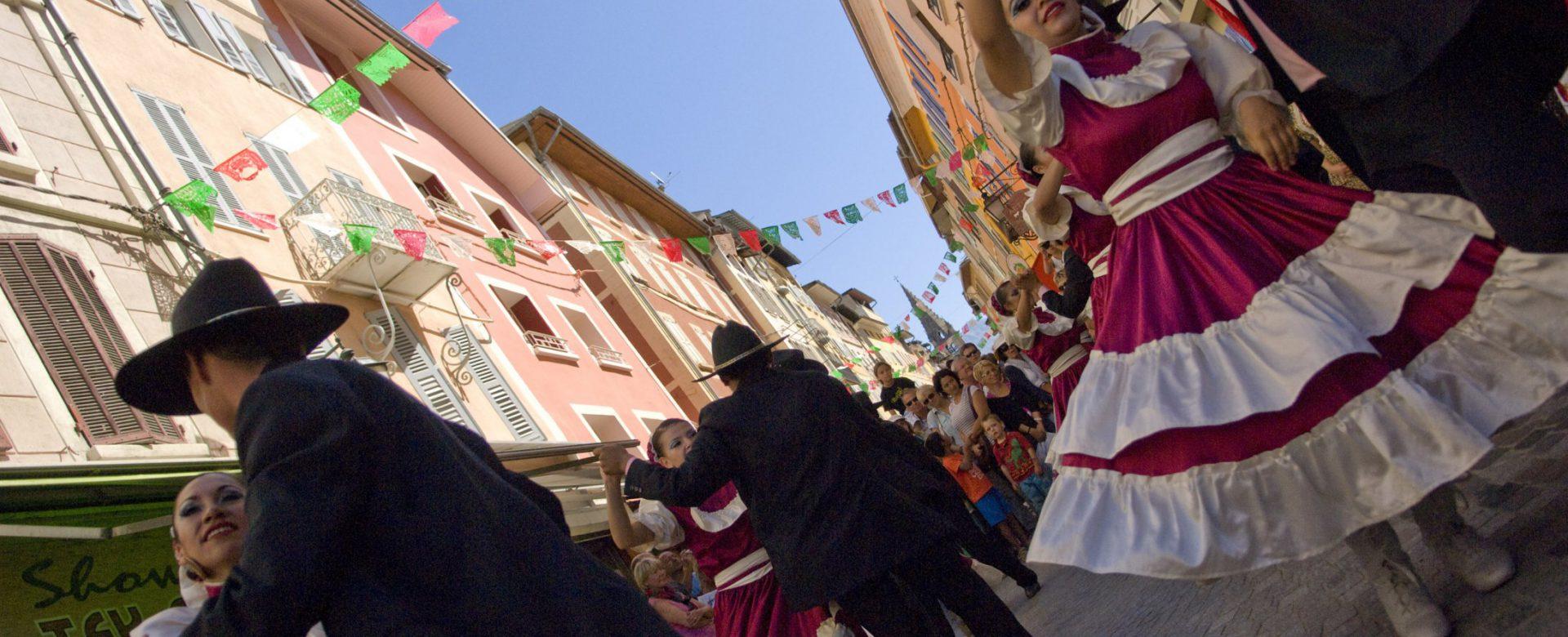 Fêtes latino-mexicaines à Barcelonnette ©M. Boutin