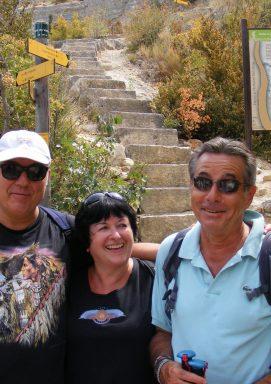 Eric M. & ses amis dans les Basses Gorges du Verdon