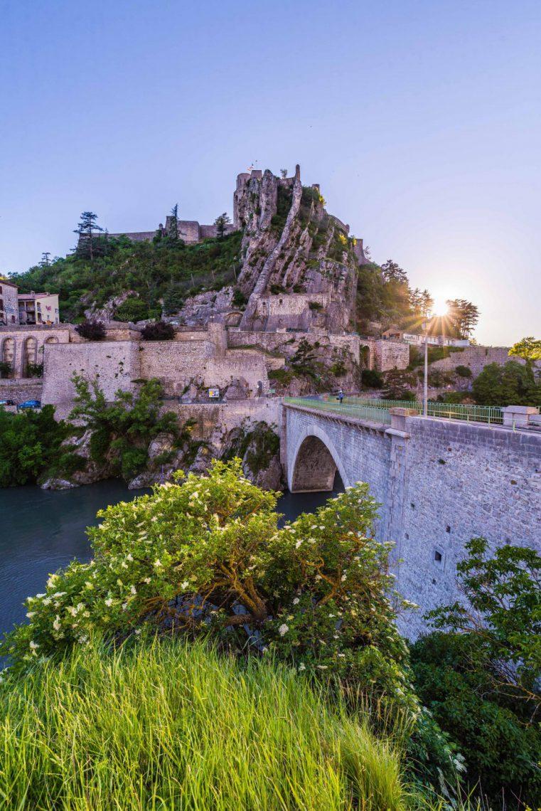 Vue de Sisteron et de sa citadelle - ©Teddy Verneuil