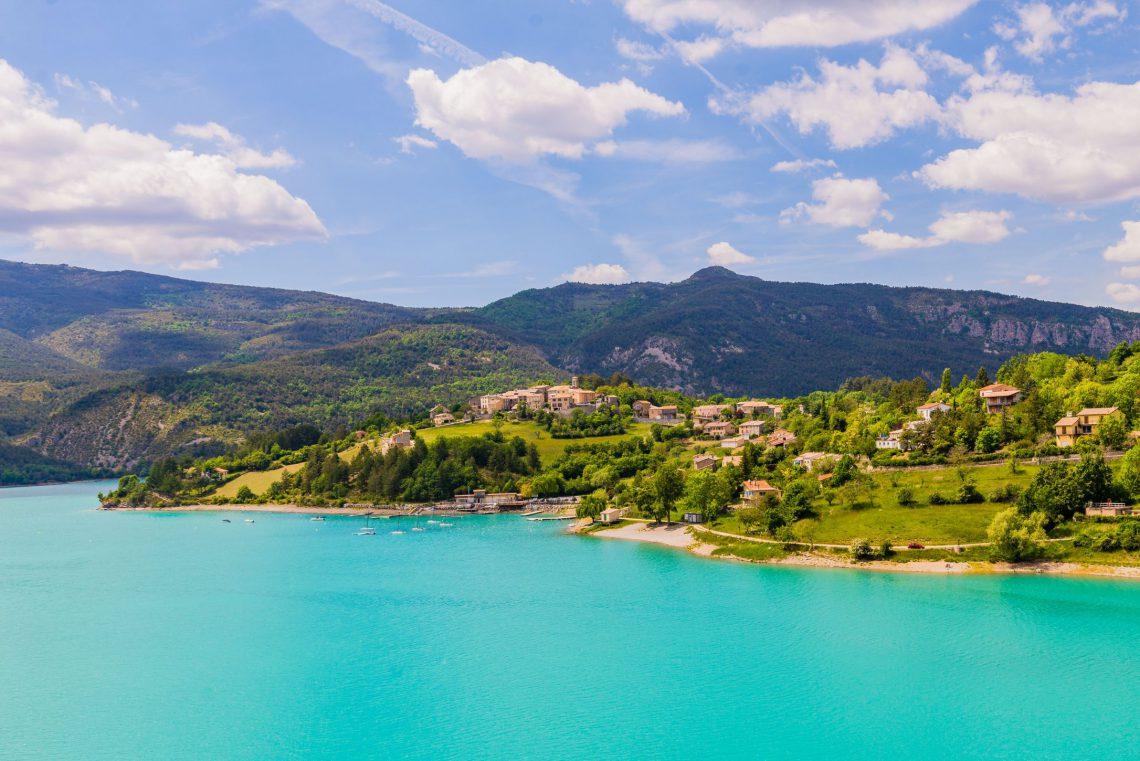 lac de Castillon dans le Verdon ©AD04/T. Verneuil
