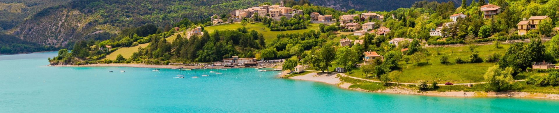 lac de Castillon dans le Verdon ©T. Verneuil