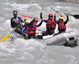 rafting en famille ©Anaconda Rafting
