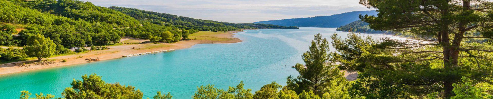 P dalo au lac de sainte croix du verdon alpes de haute - Sainte croix du verdon office du tourisme ...