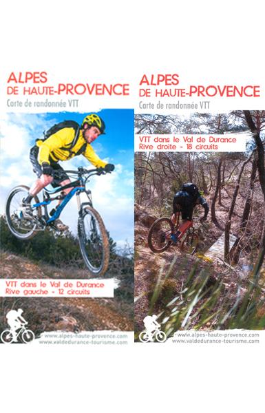 Carte VTT Val de Durance - VTT
