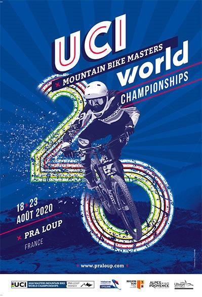 Championnats du Monde MTB Masters UCI, du 18 au 23 août 2020 à Pra Loup