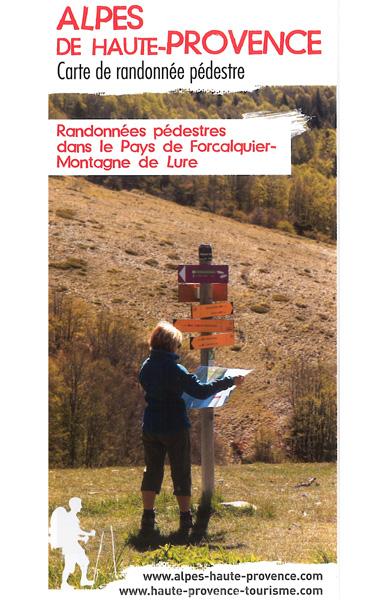 Pays de Forcalquier et la montagne de Lure - 30 promenades et randonnées